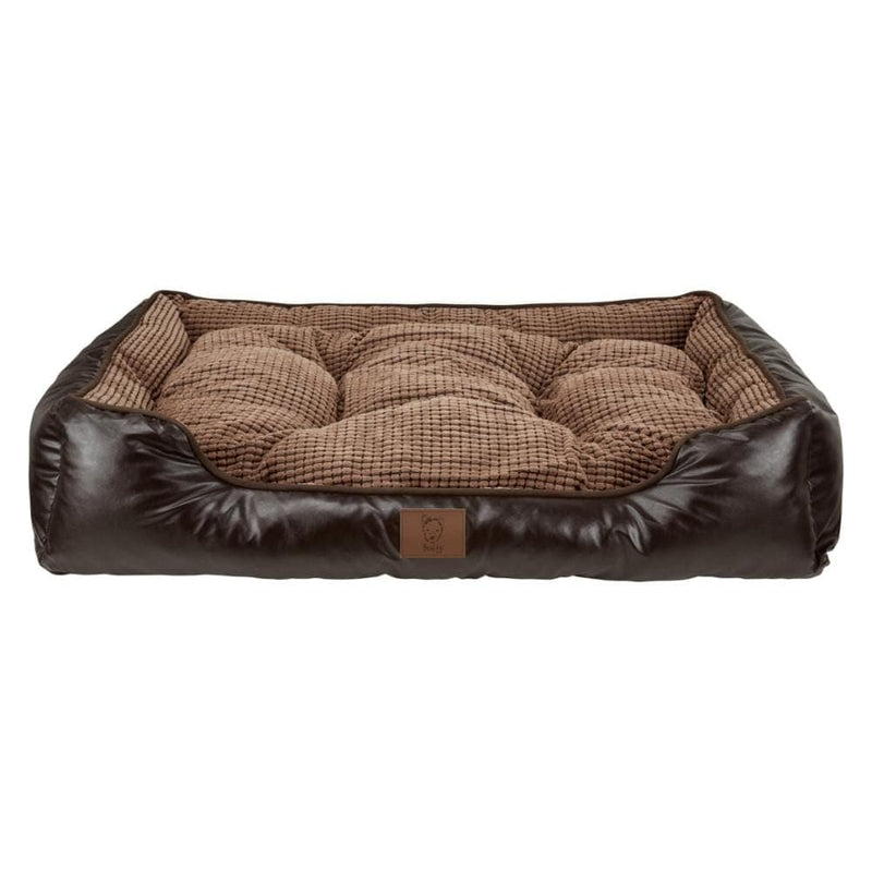Bunty Tuscan Faux Leather Bed