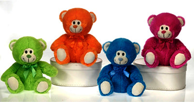 4 Assorted Color Bears (Case of 32)-Kids Clothing-shayonawholesale