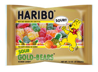 Haribo Sour Gold Bears 1.8oz - CASE OF 144-Home & Kitchen-shayonawholesale