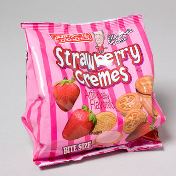 Buds Best Strawberry Creme Cookies (Case of 24)-Food-shayonawholesale