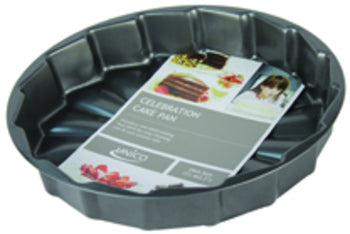 "11"" Celebration Cake Pan (Case of 24)-Kitchen & Dining-shayonawholesale"