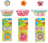 24 count Baking Cups and 24 piece Decorative Picks (Case of 72)-Holidays-shayonawholesale