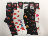 Valentine Socks Size 9-11 (Case of 36)-Kitchen & Dining-shayonawholesale