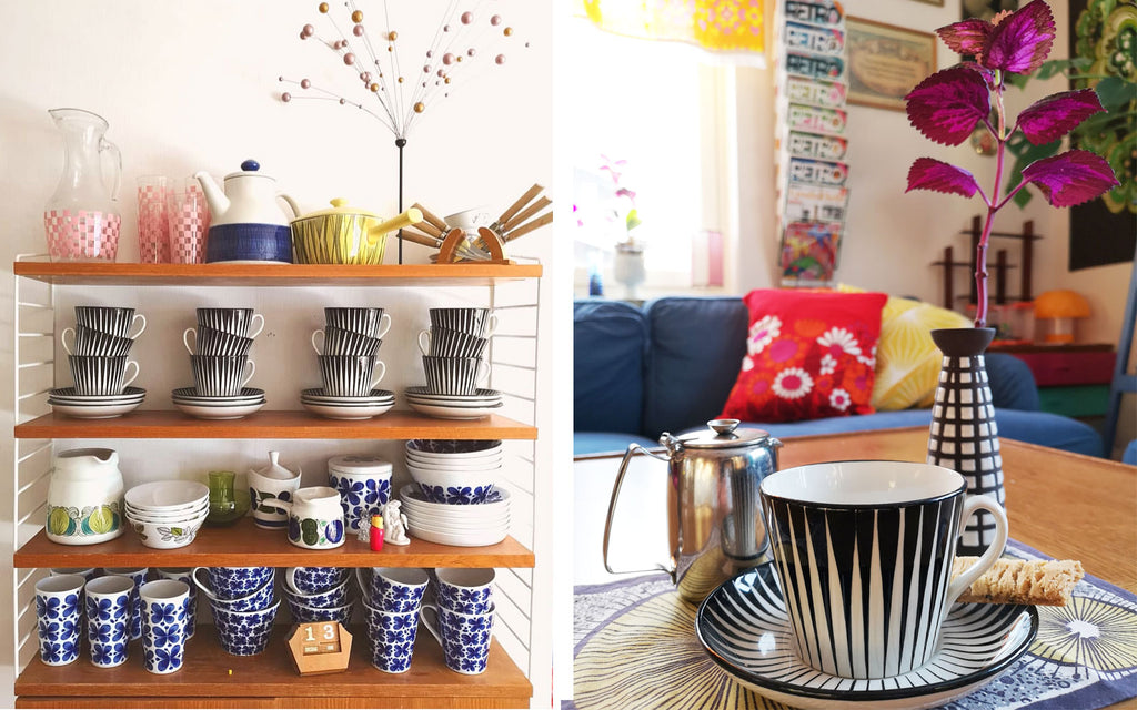 House Tour _ Anna-Karin's Eugen Trost Zebra Crockery | The Inkabilly Blog