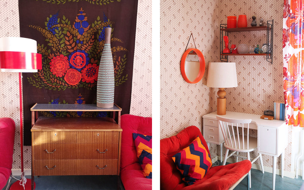 House Tour - Anna-Karin's retro bedroom | The Inkabilly Blog