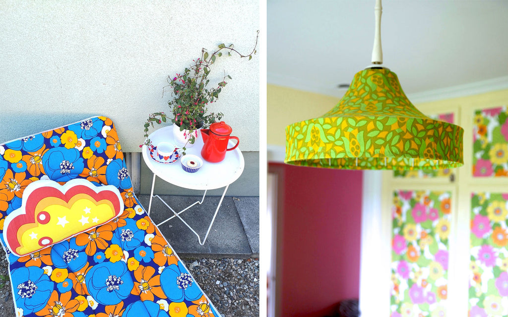Retro House Tour - Anna-Karin's vibrant retro home full on vintage patterns | The Inkabilly Blog