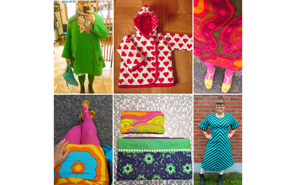 Anna-Karin's hand-made items using vintage fabric | The Inkabilly Blog