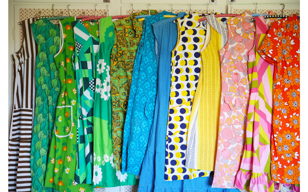 Anna-Karin's collection of vintage dresses | The Inkabilly Blog