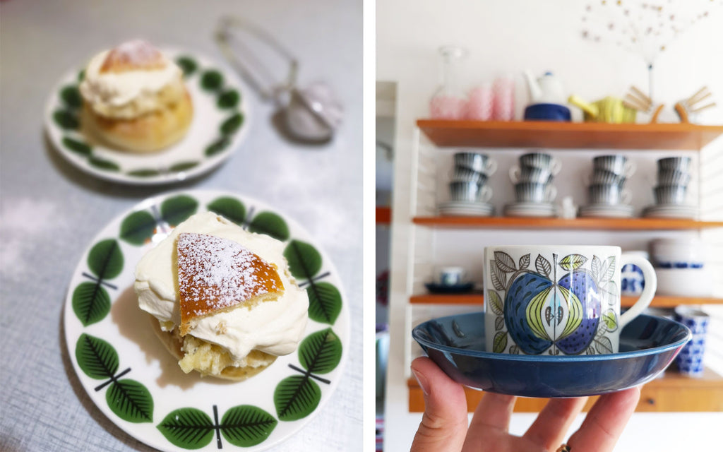 House Tour - Anna-Karin's vintage crockery Stig Lindberg | The Inkabilly Blog