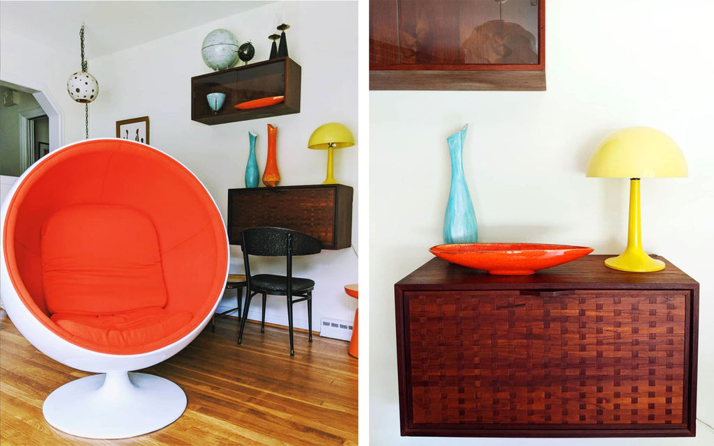 House Tour: Olivia's Atomic Ranch Revival - lounge details