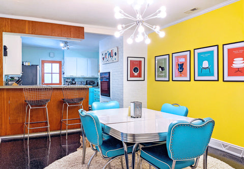 The Inkabilly Blog Retro House Tour: Olivia's Atomic Ranch Revival