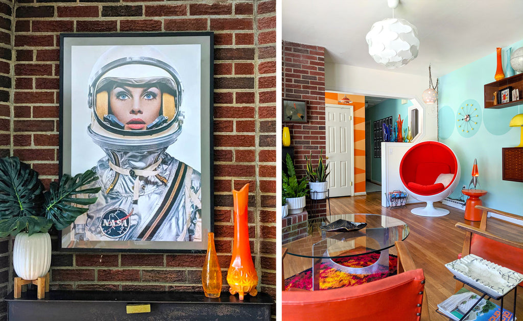 House Tour: Olivia's Atomic Ranch Revival - Lounge