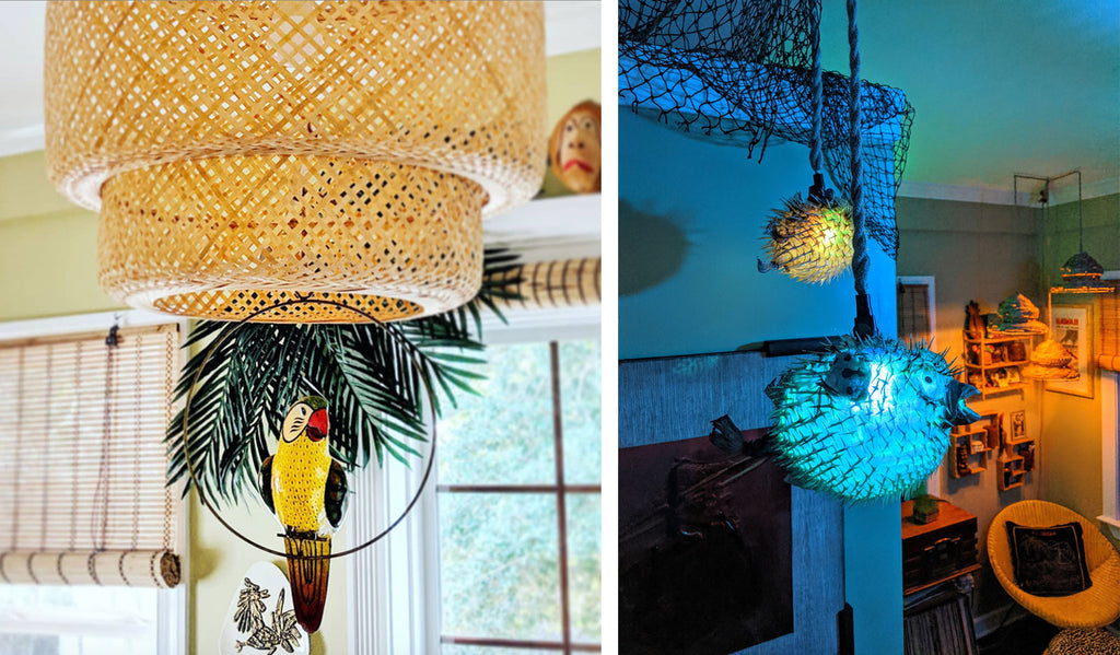 House Tour: Olivia's Atomic Ranch Revival - Tiki Room