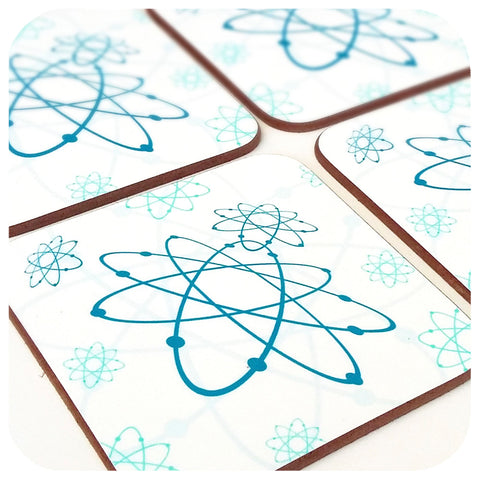 Atomic Coasters by Inkabilly