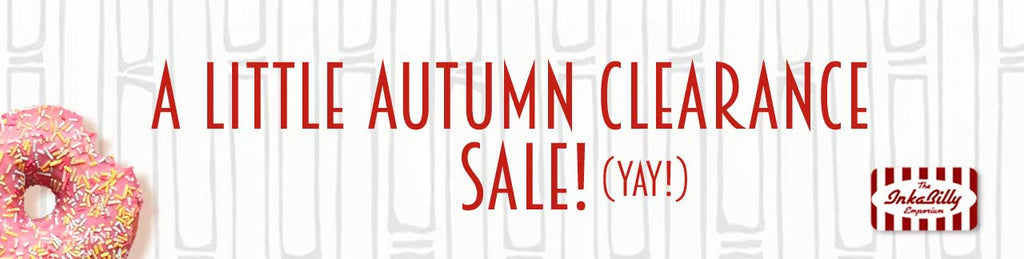 Inkabilly's little autumn sale