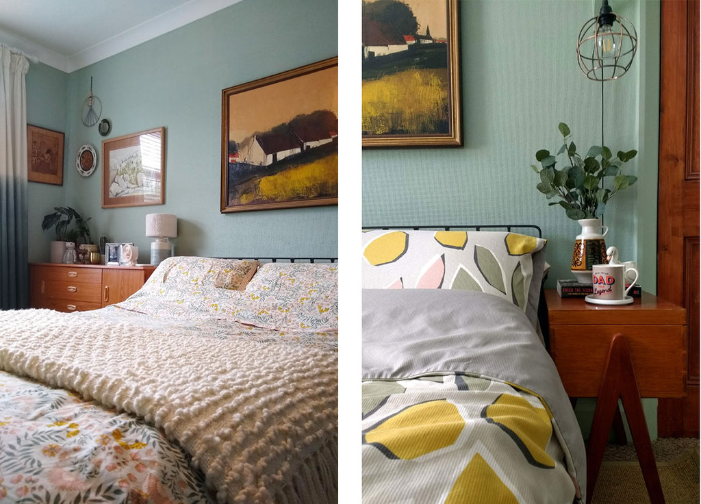 House Tour: Beth's Mid Century Family Home - Master bedroom