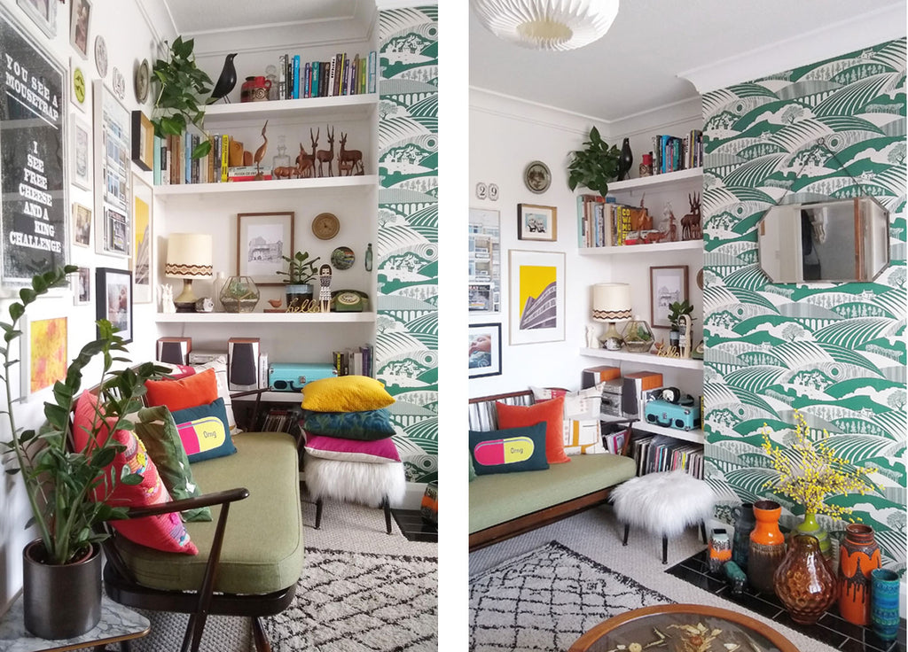 House Tour: Beth's Mid Century Family Home - Living Room