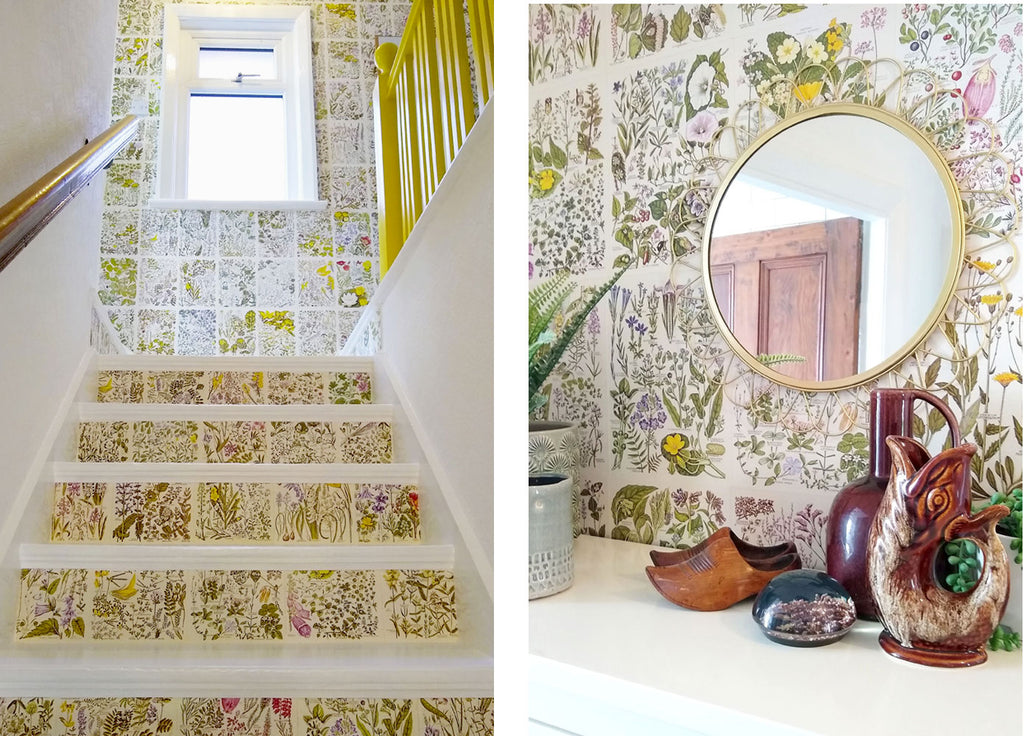 House Tour: Beth's Mid Century Family Home - Stairs and landing detail