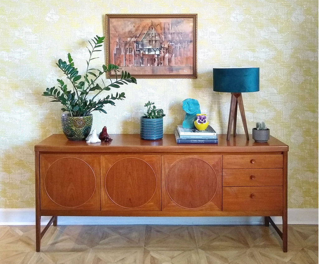 House Tour: Beth's Mid Century Family Home - Teak Sideboard