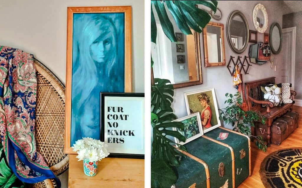 Inkabilly Blog House Tour: Aisling's Eclectic Shack - Boho style decor