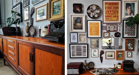 Inkabilly Blog House Tour: Aisling's Eclectic Shack