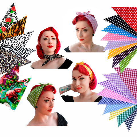 Bandanas and retro headscarves, Rockabilly stocking fillers