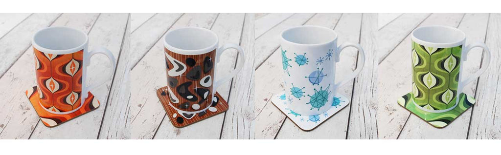 New Mug and Coasters Gift Sets