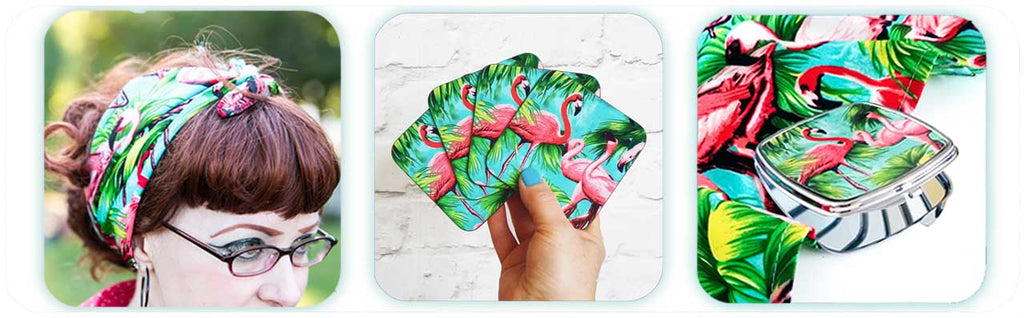 Flamingo accessories by Inkabilly