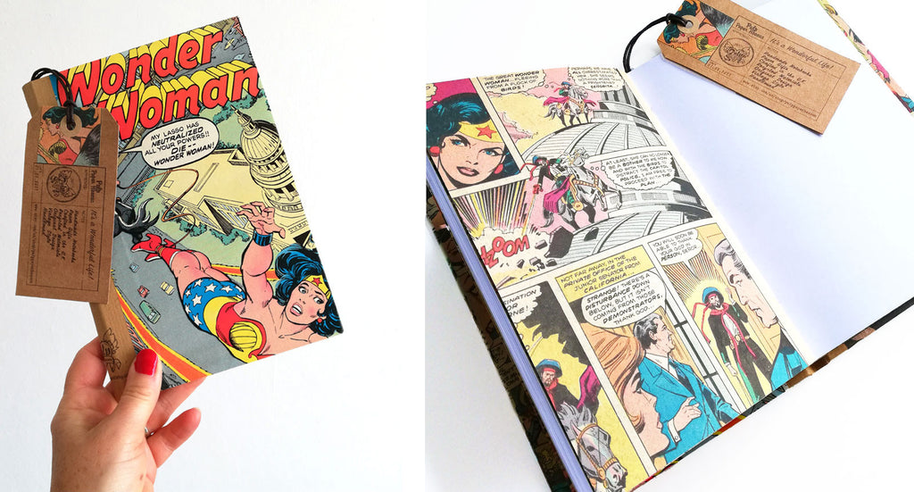 Blog - Pulp Paper Heaven - Vintage Wonder Woman Book