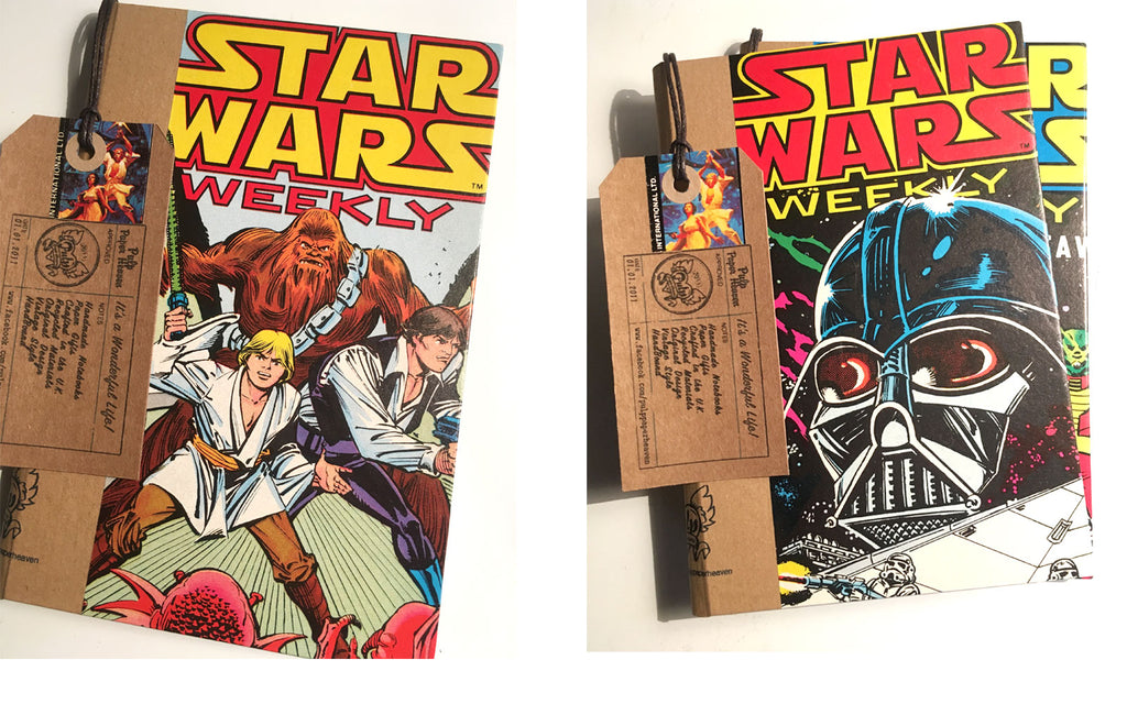 Star Wars Books by Pulp Paper Heaven | The Inkabilly Blog