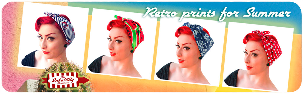 Retro Bandanas for Summer 2018 by Inkabilly