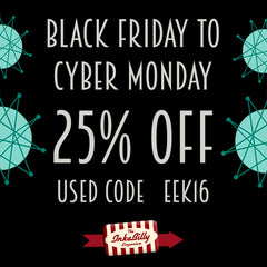 Black Friday 25% off at Inkabilly