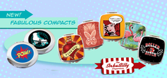 Compact Mirrors by Inkabilly