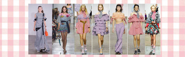 Gingham is in for Spring 2017