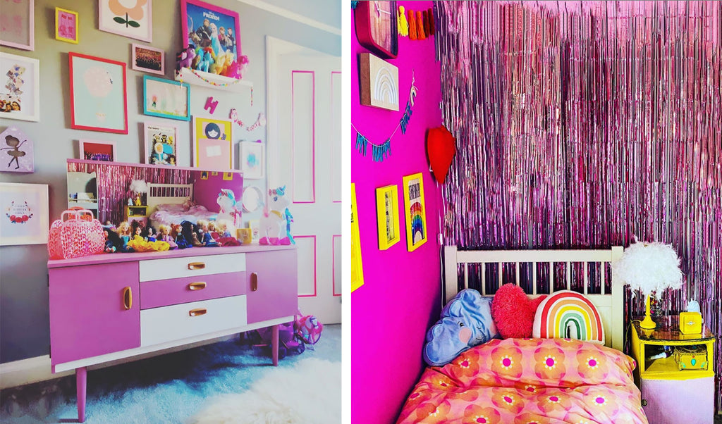 House Tour: Ali's Retro Pop Home - kids bedroom