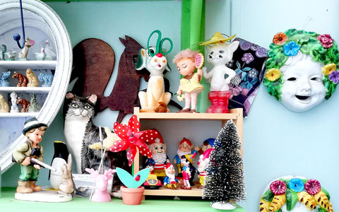 House Tour: Hazel's kitsch collections