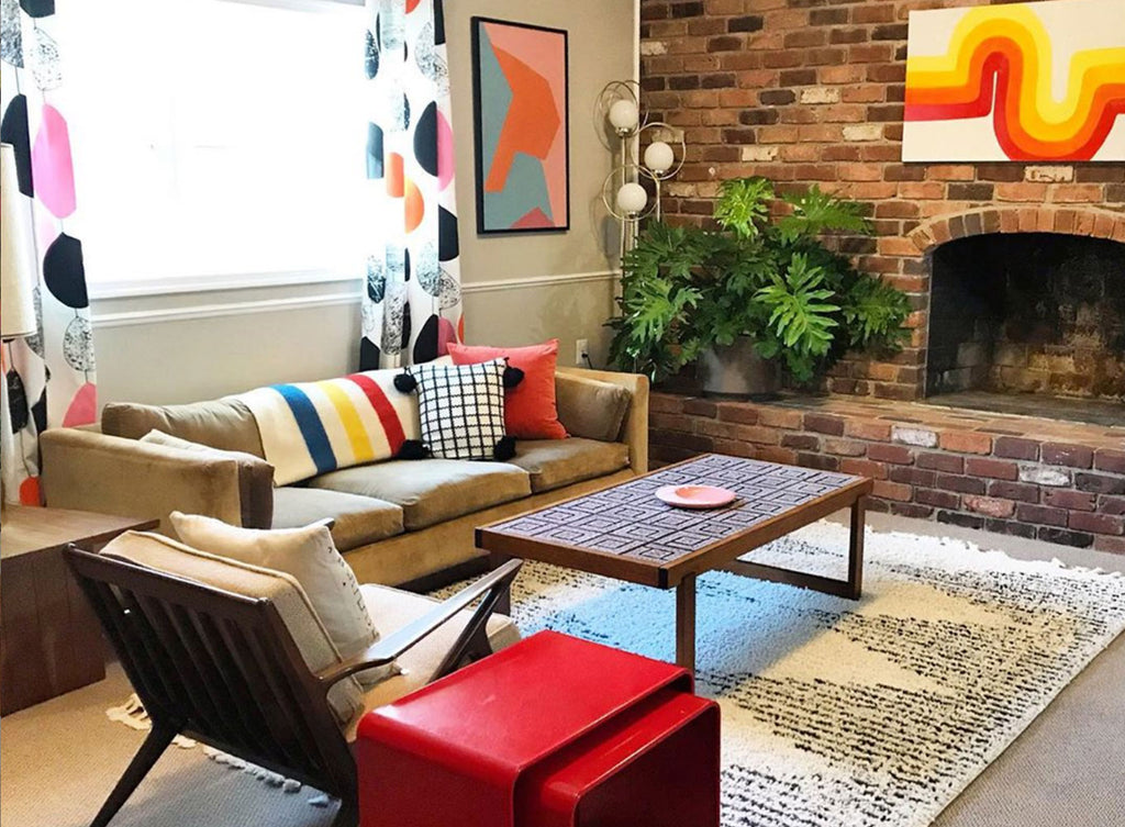 House Tour: Anna's Colourful Mid Century Modern Pad