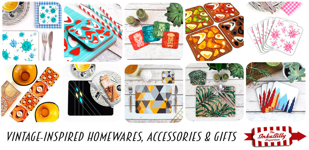 Shop retro homewares in The Inkabilly Emporium