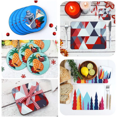 Shop Inkabilly Christmas Tableware
