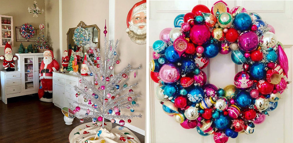 Kitsch Christmas Decor by Jennie Loves