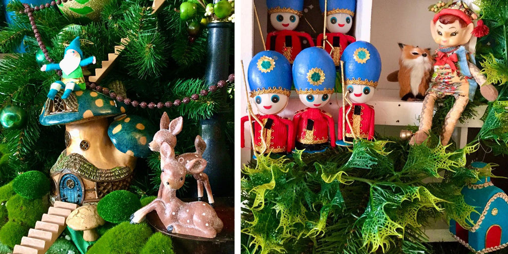 Kitsch Christmas creations by Sharry Lou