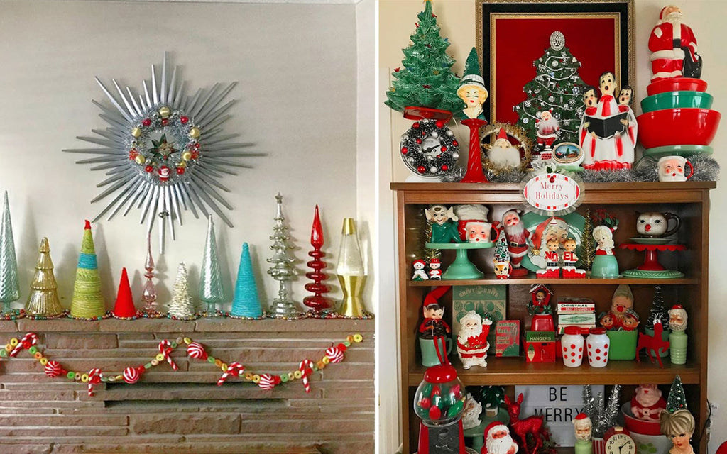 Kitschmas Decor by Vintage Charms