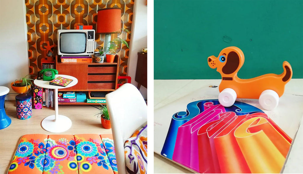 House Tour - Laura's bright colours in lounge and accessories