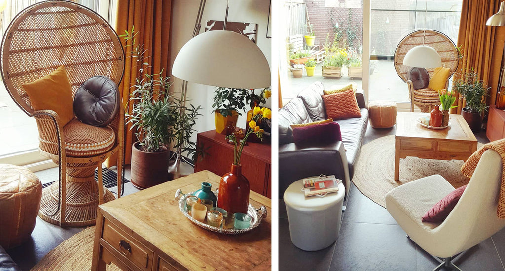 House Tour: Gwenn's Eclectic Vintage and Upcycled Home - lounge