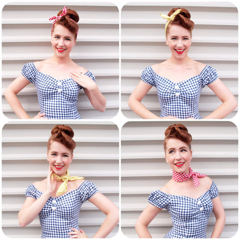 Gingham Mix and Match by Miss Hero Holliday
