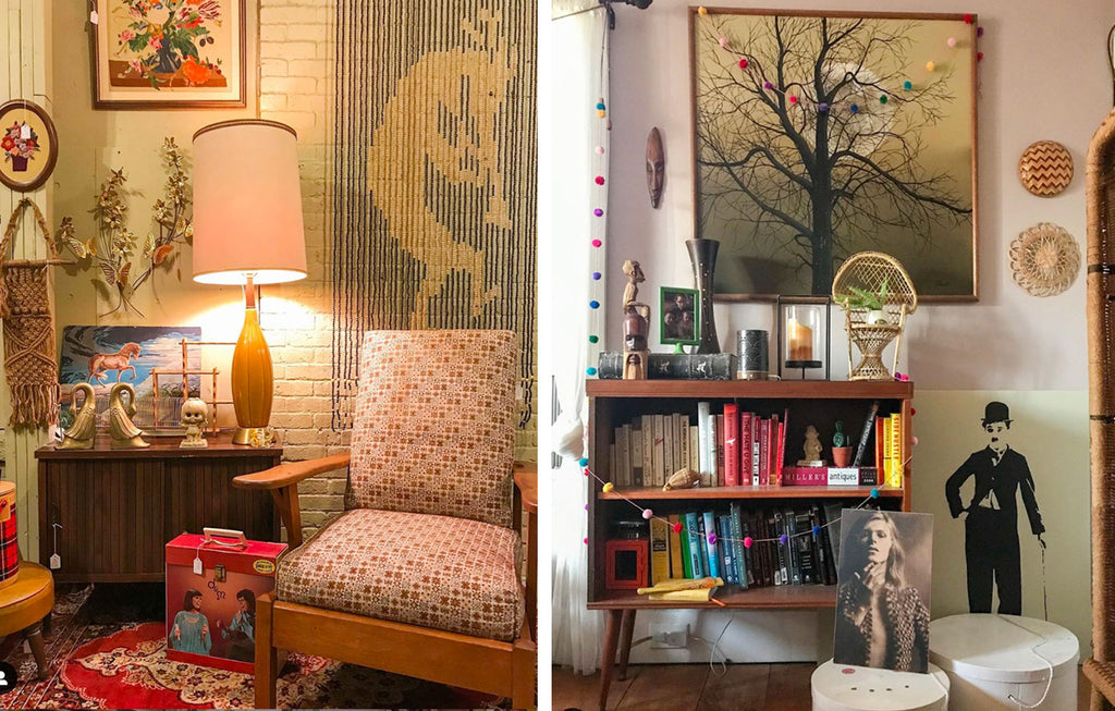 House Tour: Ryann's Mid Century Home - details of kitsch corners