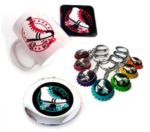 Retro Roller Skate Gifts, Roller Derby Gifts