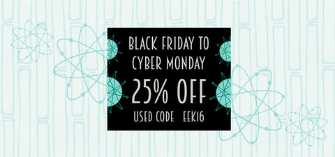 Black Friday - Cyber Monday 25% off inkabilly.com