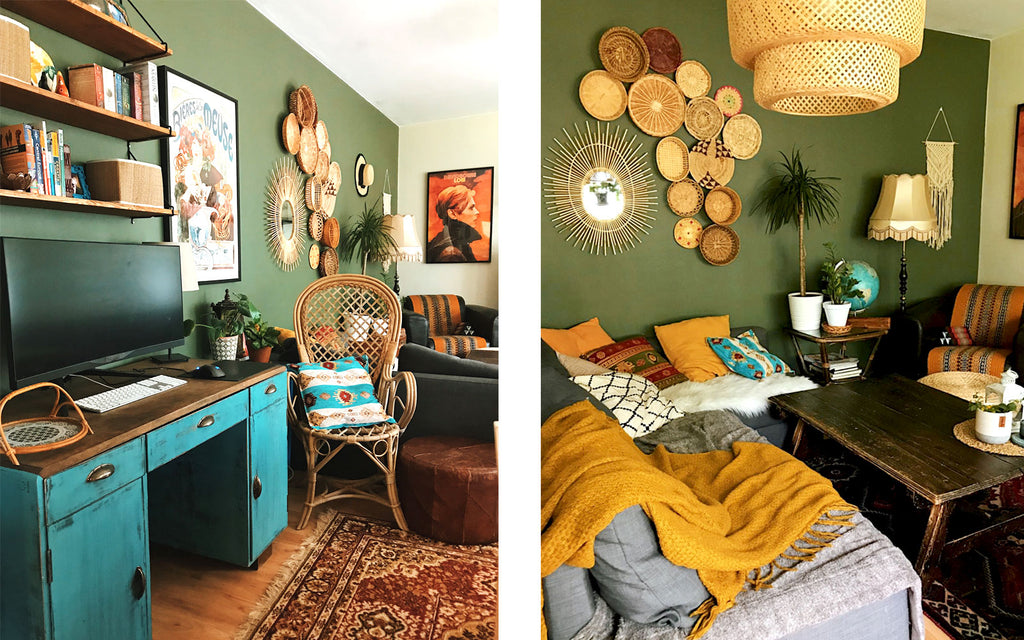 House Tour - Melanie's Eclectic Bohemian Inspired Apartment