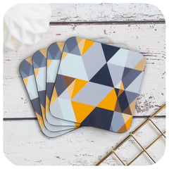 Scandi Geometric Coasters